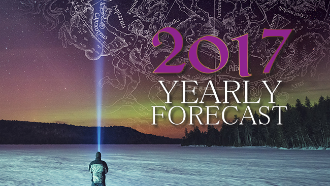 2017 Yearly Forecast: What's in the stars for you this year?