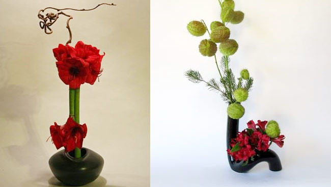 For A Fresh Holiday Look, Try The Asymmetry, Space, Naturalism Of Japan's Ikebana