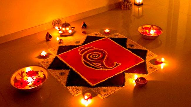 Diwali Decor: Of Diyas and Rangolis