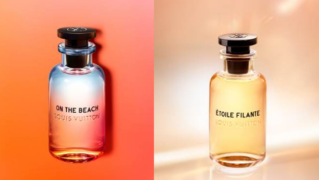 Louis Vuitton offers two new fragrances: On the Beach and Étoile Filante for Mother's Day