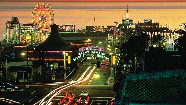 Santa Monica: Where the city meets the sea
