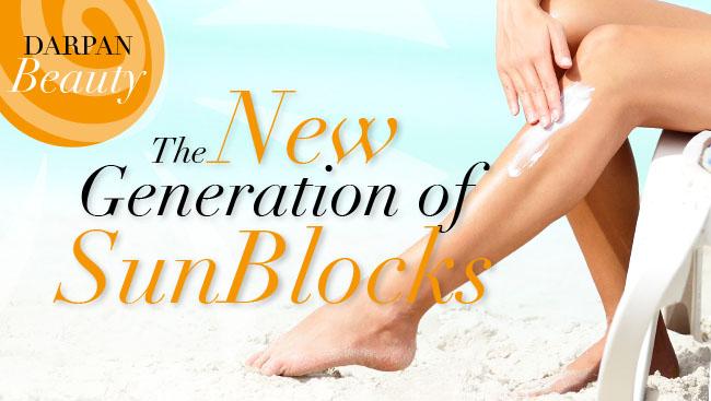 The New Generation of Sunblocks