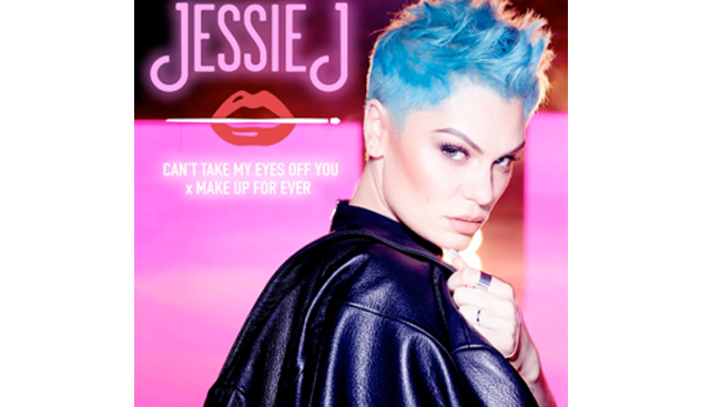 MAKE UP FOR EVER and Jessie J team up for artistic collaborations