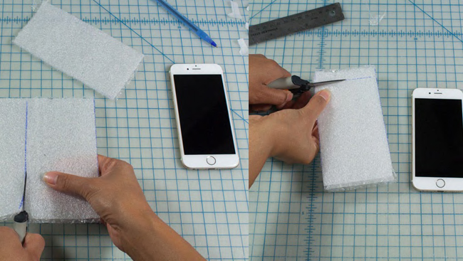 Back to School Duct Tape Project: Cell Phone Case