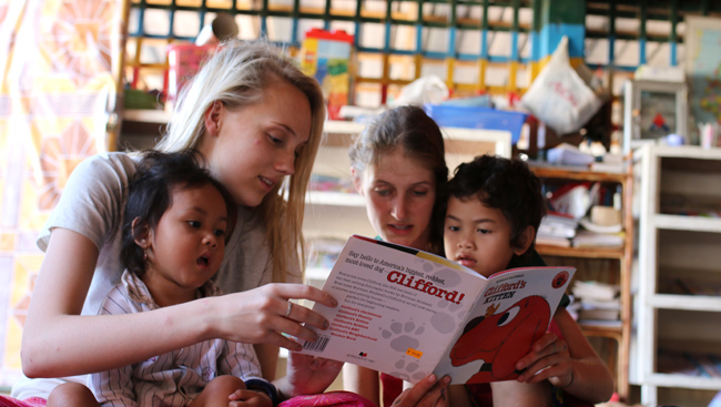 Planning the next family vacation? Consider volunteering abroad!