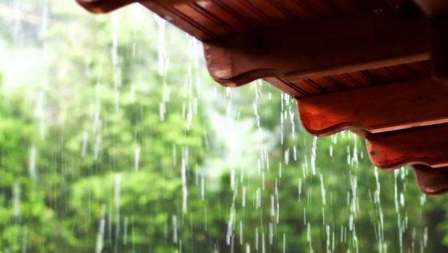 Protect your outdoor area from rain