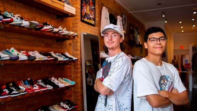 The lucrative world of sneaker collecting