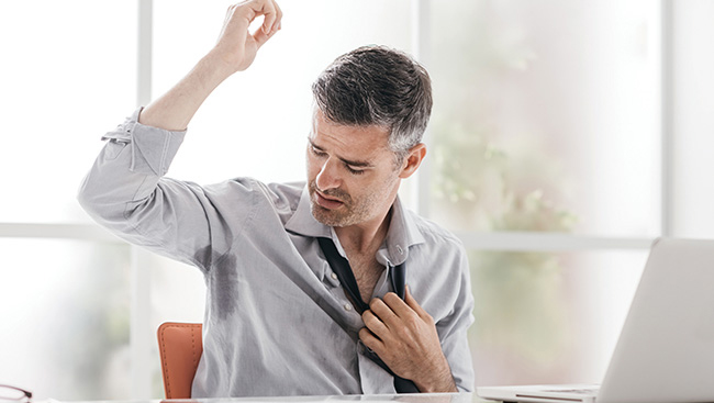 The Sweaty Tale of Hyperhidrosis