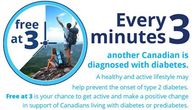 Lace up your shoes and leave the office behind in support of Diabetes Canada
