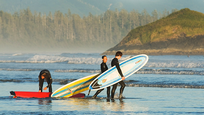 Make memories at Tofino