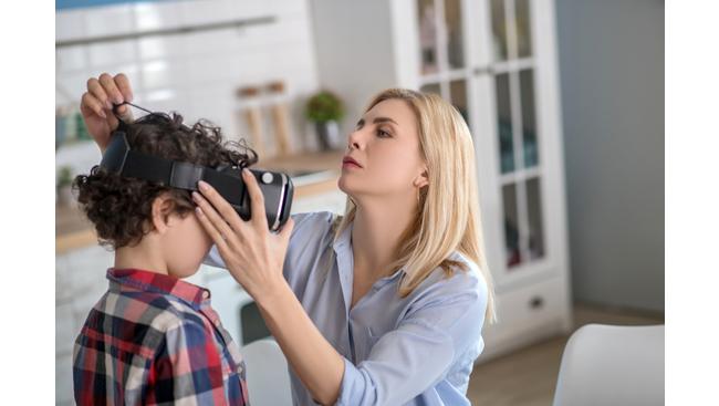 Virtual babysitting gaining popularity