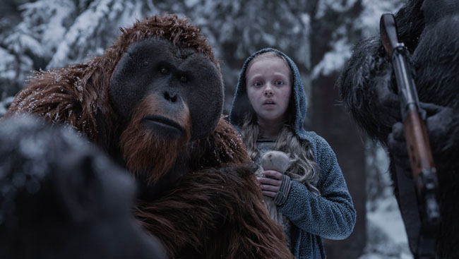 Tourism Vancouver & Film Commissions launch War for the Planet of the Apes contest