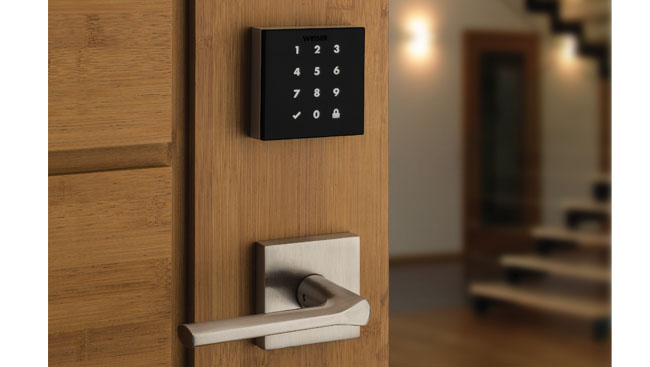 Weiser unveils keyway-less touchscreen lock