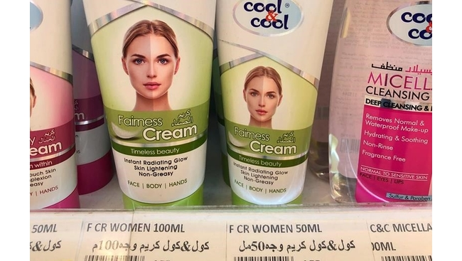 Racial Injustice-Selling Whiter Skin story