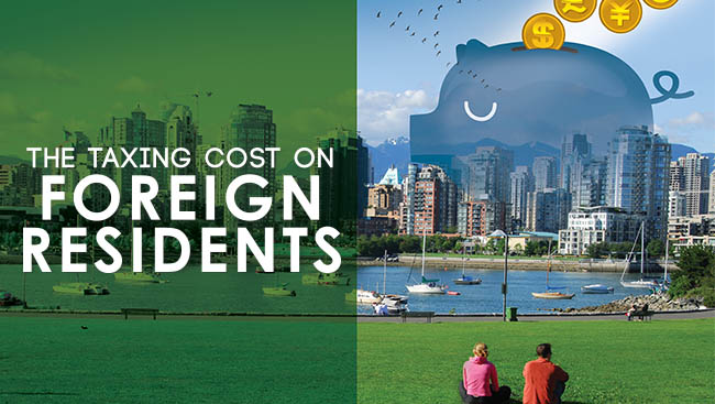 The Taxing Cost on Foreign Residents