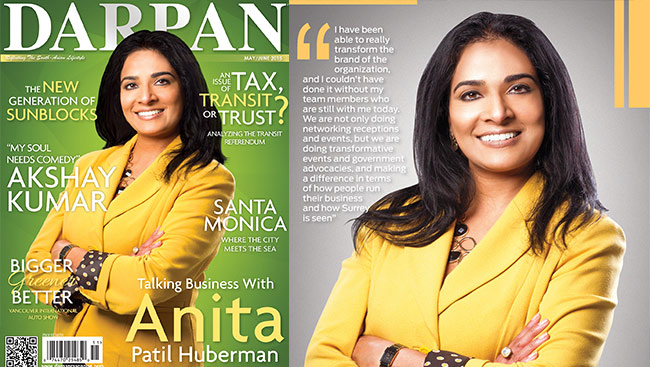 Talking Business with Anita Patil Huberman