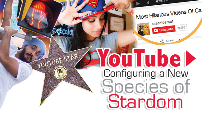 YouTube : Configuring a New Species of Stardom