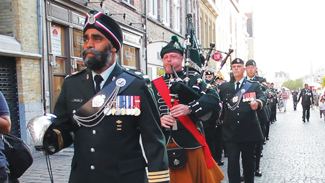 Taking Command - Lieutenant-Colonel Harjit Singh Sajjan
