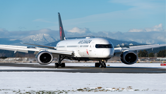 Air Canada lays off 1700 employees and reduces flight capacity by 25 percent