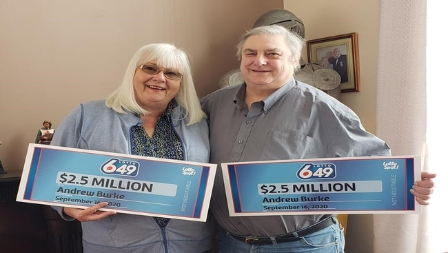 Alberta man wins twice in same lottery