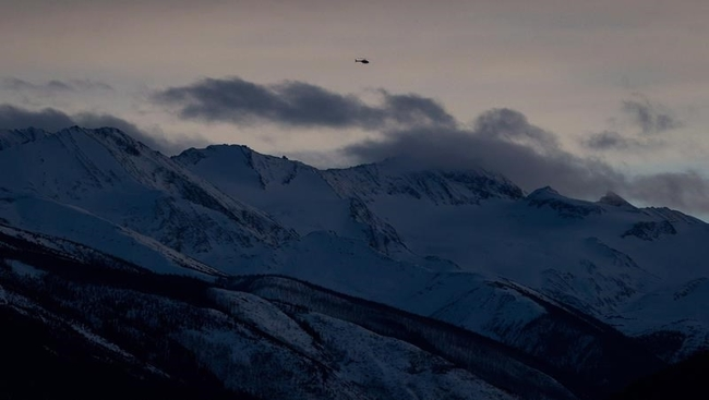 Avalanche warning in North and South Rockies