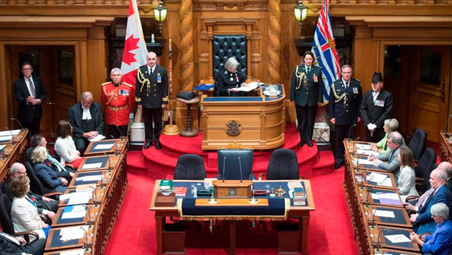 B.C. House Leaders Review Suspended Officials' Responses To Alleged Overspending