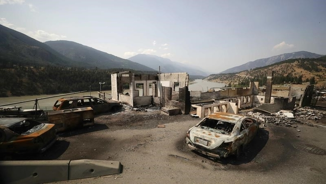 RCMP search of 2 areas of interest in Lytton fire