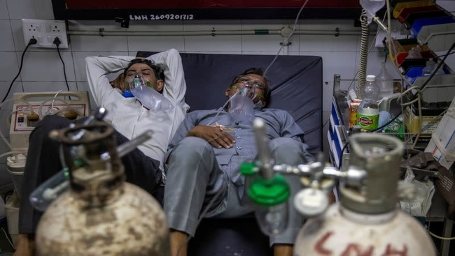 Shortage of oxygen cylinders and beds continues to take a toll on India as it grapples with COVID19