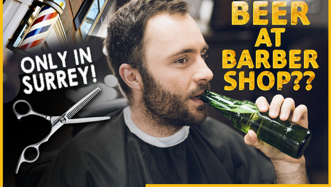Will beer be served at barbershops? Surrey Council approves.