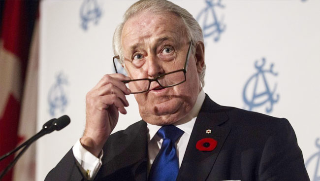 Former PM Mulroney Predicts Trump Rage At Justin Trudeau A Passing Storm