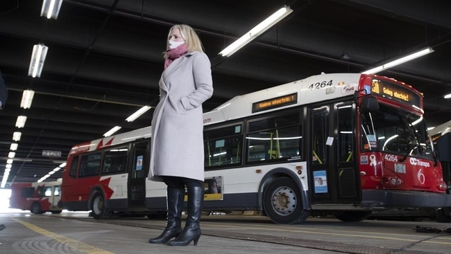 Feds tap transit funds for electric buses