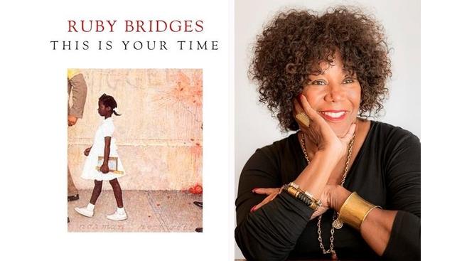 Civil rights activist Ruby Bridges writes children's book