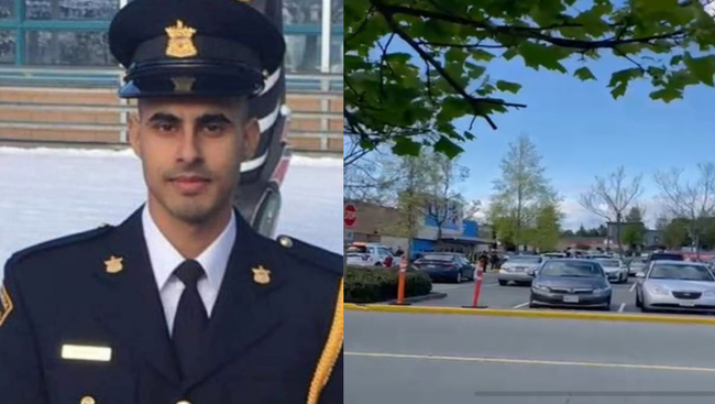 Candlelight vigil being held for Bikramdeep Singh Randhawa, BC corrections officer who was shot in Delta on Saturday