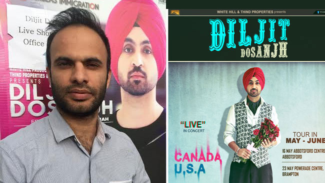 Sensational Singer Diljit Dosanjh To Perform In Abbotsford