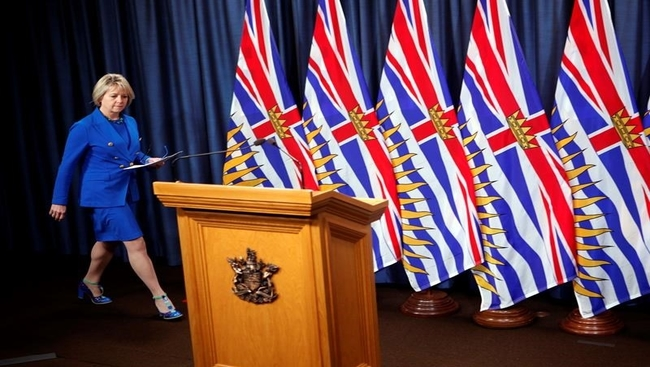 B.C. expands COVID-19 restrictions