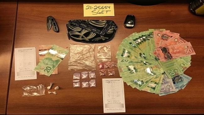Drugs, cash, and, Alfa Romeo Stelvio seized by Surrey Gang Enforcement Team
