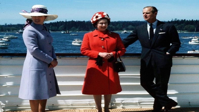 A look at some of Prince Philip's visits to Canada