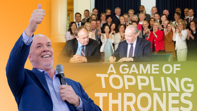 BC elections 2017 - A Game of Toppling Thrones