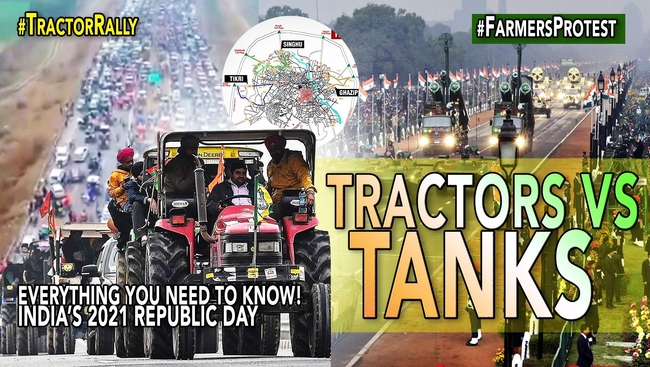 WATCH: Farmers ready to protest at Republic Day Parade in India