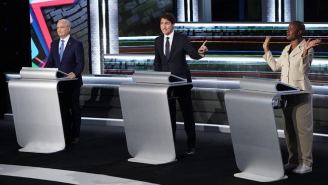 Leaders gird for round two ahead of English debate