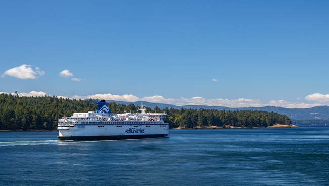 BC Ferries offers lower prices for main routes in the Lower Mainland