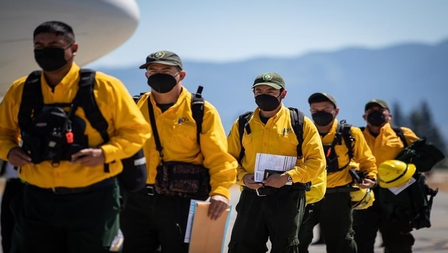 More out-of-province wildfire crews head to B.C.