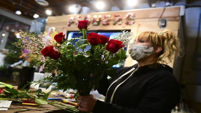 COVID-19 causing flower shortage as VDay looms