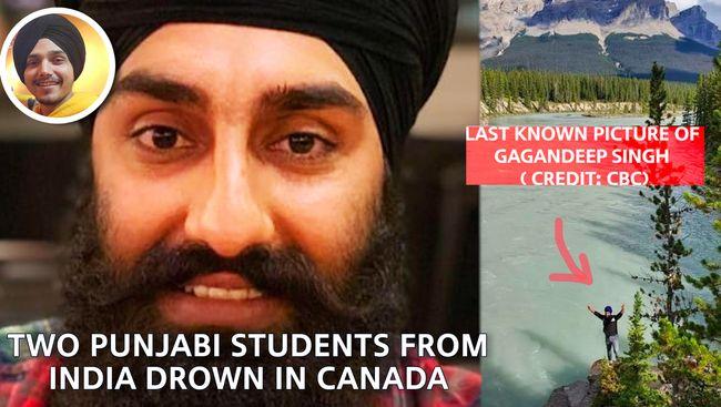 WATCH: Two Punjabi Indian Students drown in Lakes | Gagandeep Singh & Manpreet Singh