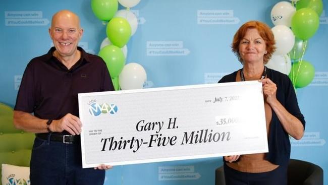 B.C. man takes home $35-million lottery prize