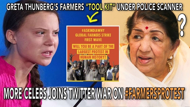 WATCH: Greta Thunberg's Twitter Toolkit in Trouble as Delhi Police File FIR