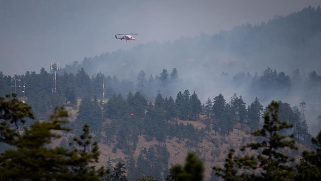 B.C. wildfires: Cooler weather provides some help