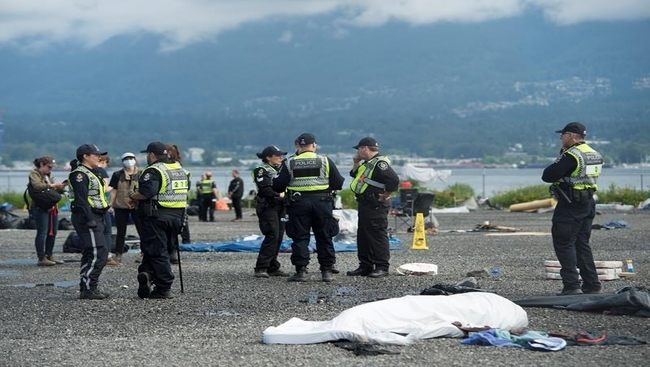 Order issued to end encampment in Vancouver park