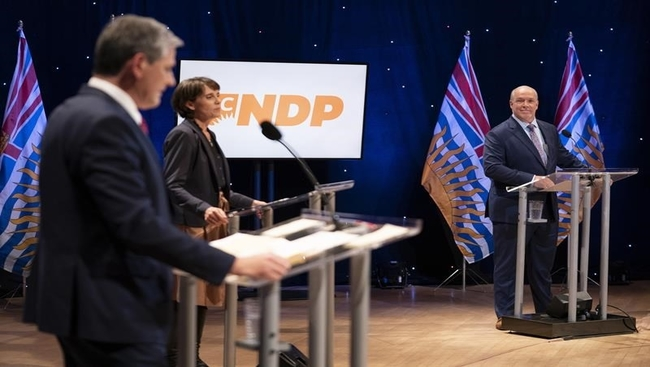 Horgan tries to clarify answer on white privilege
