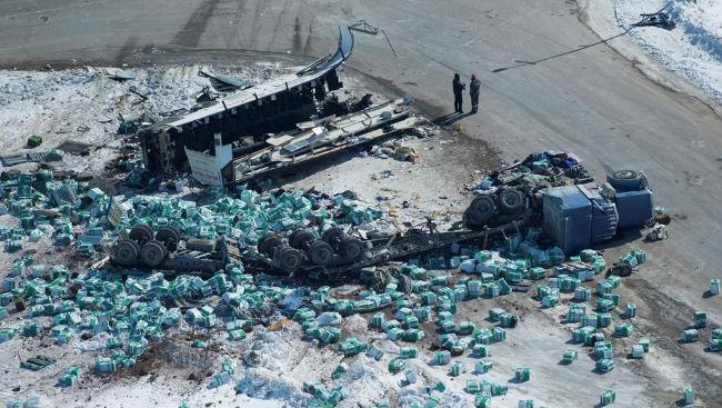 Saskatchewan Introduces Minimum Semi-Truck Driver Training After Broncos Crash